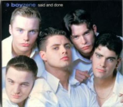 Boyzone Said & Done - Deluxe Package CD album (CDLP) Japanese BYZCDSA123691