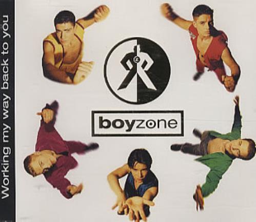 "Boyzone Working My Way Back To You CD single (CD5 / 5"") Irish BYZC5WO309437"