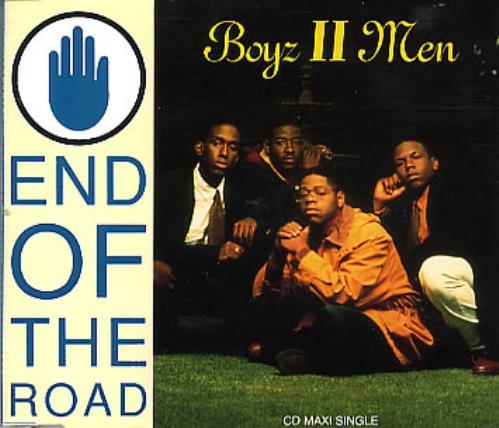 """Boyz II Men End Of The Road CD single (CD5 / 5"""") UK BTMC5EN223393"""