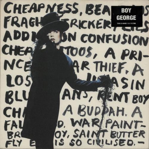 Boy George Cheapness & Beauty vinyl LP album (LP record) UK BOYLPCH59626