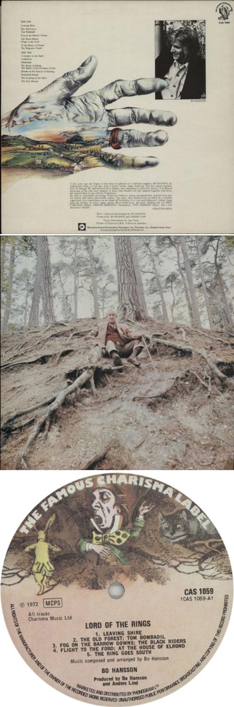 Bo Hansson Lord Of The Rings - 2nd vinyl LP album (LP record) UK BOHLPLO601124