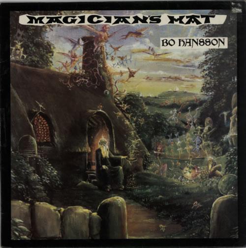 Bo Hansson Magician's Hat vinyl LP album (LP record) UK BOHLPMA147240