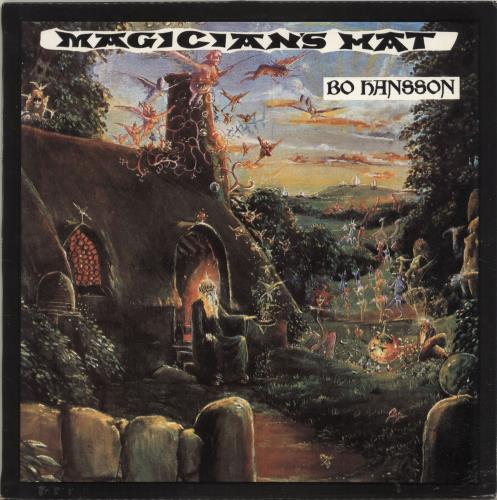 Bo Hansson Magician's Hat vinyl LP album (LP record) New Zealand BOHLPMA695719