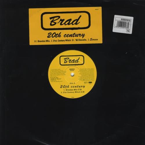 "Brad 20th Century 12"" vinyl single (12 inch record / Maxi-single) US RAD12TH175297"