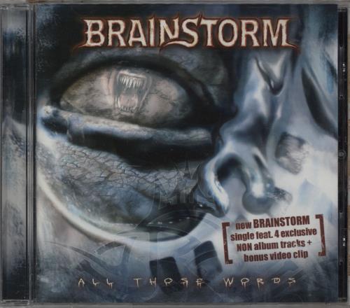 Brainstorm All Those Words CD album (CDLP) German 1ZICDAL753173