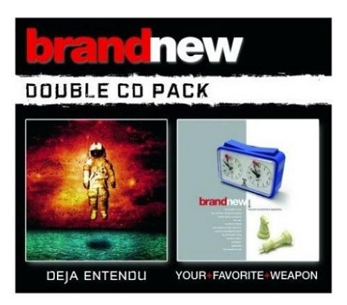 Brand New Deja Entendu / Your Favourite Weapon 2 CD album set (Double CD) UK BNU2CDE390574