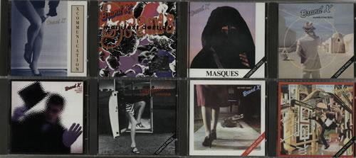 Brand X 1976-1997 Complete Studio albums UK CD album (CDLP