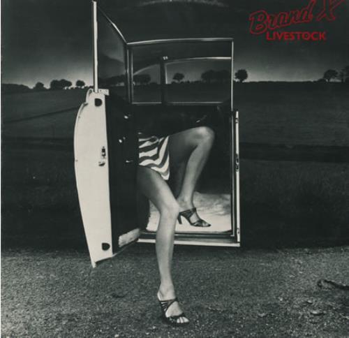Brand X Livestock - 1st vinyl LP album (LP record) UK BDXLPLI355631