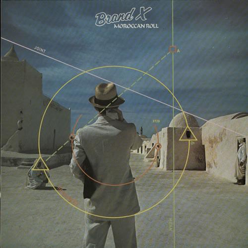 Brand X Moroccan Roll vinyl LP album (LP record) UK BDXLPMO263248