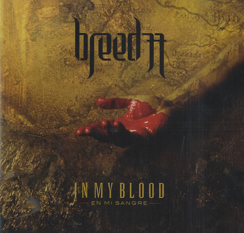 Breed 77 In My Blood CD album (CDLP) UK B77CDIN476164
