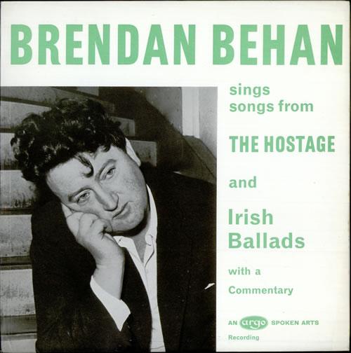 Brendan Behan Songs From 'The Hostage' And Irish Ballads UK