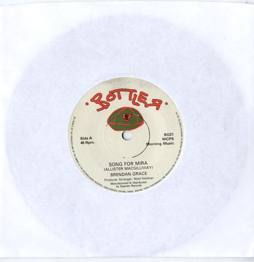 "Brendan Grace Song For Mira 7"" vinyl single (7 inch record) UK F5F07SO614984"
