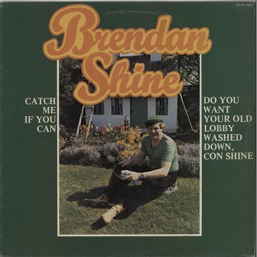 Brendan Shine Brendan Shine vinyl LP album (LP record) Irish F5ELPBR638928