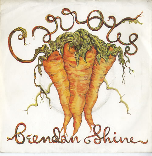 "Brendan Shine Carrots - Orange Vinyl 7"" vinyl single (7 inch record) Irish F5E07CA615006"