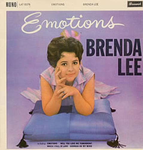 Brenda Lee Emotions vinyl LP album (LP record) UK B-LLPEM250837