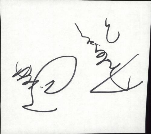 Brett Anderson Autograph memorabilia UK BT8MMAU717618