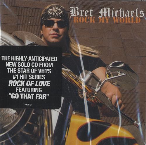 Bret Michaels Rock My World CD album (CDLP) US BEMCDRO477776