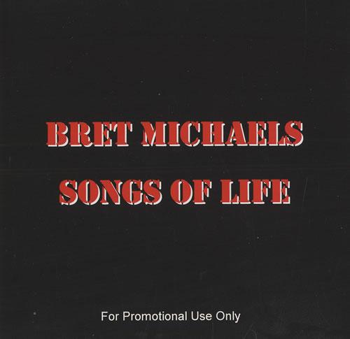 Bret Michaels Songs Of Life CD album (CDLP) US BEMCDSO467922