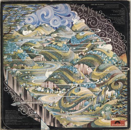 Brian Auger A Better Land vinyl LP album (LP record) UK AUGLPAB700443