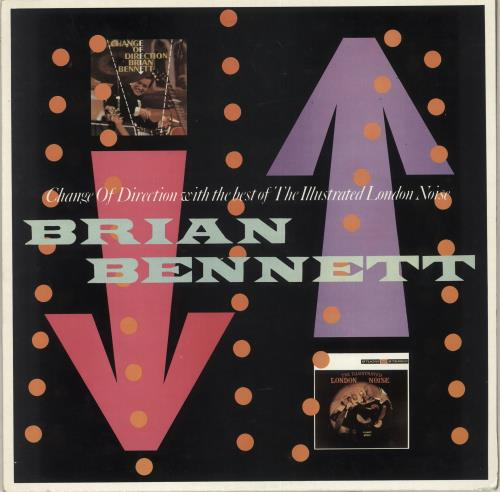 Brian Bennett Change Of Direction With The Best Of The Illustrated London vinyl LP album (LP record) UK ENNLPCH238644