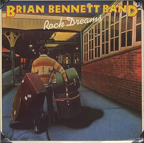 Brian Bennett Rock Dreams vinyl LP album (LP record) UK ENNLPRO238701