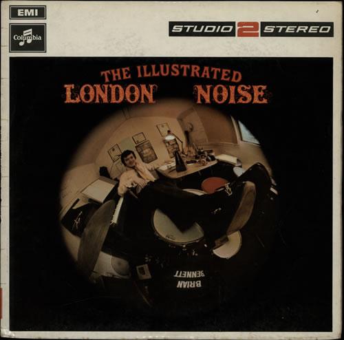 Brian Bennett The Illustrated London Noise vinyl LP album (LP record) UK ENNLPTH240334