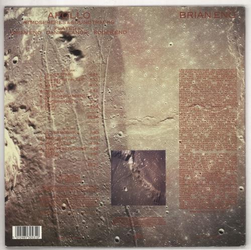 Brian Eno Apollo - 2nd vinyl LP album (LP record) UK ENOLPAP245139