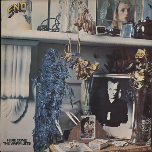 Brian Eno Here Come The Warm Jets - 1st - EX vinyl LP album (LP record) UK ENOLPHE566519