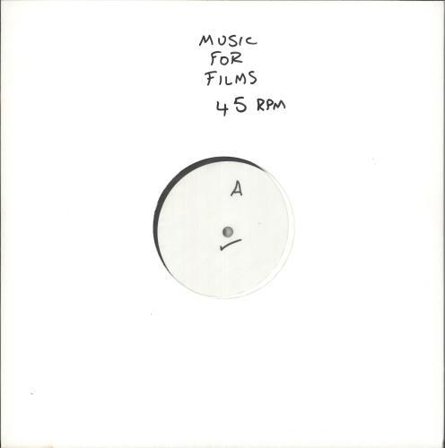 Brian Eno Music For Films - 45rpm 180 gram white label test 2-LP vinyl record set (Double Album) UK ENO2LMU728516
