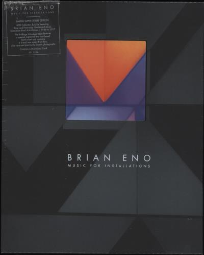 Brian Eno Music For Installations - Super Deluxe Edition CD Album Box Set UK ENODXMU724933