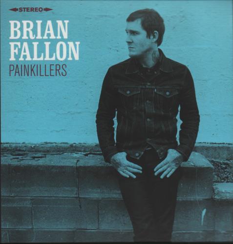 Brian Fallon Painkillers CD-R acetate UK I4ICRPA669342
