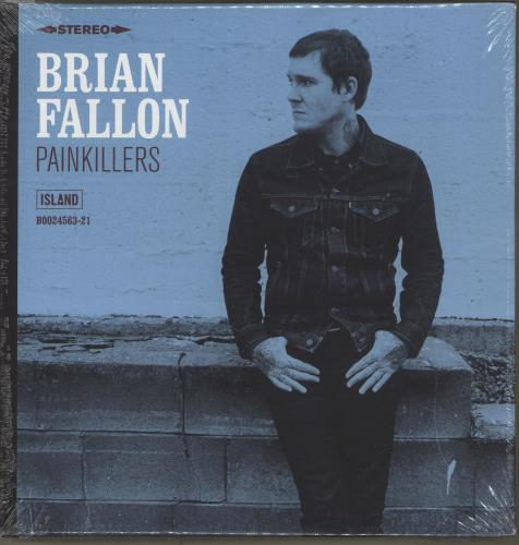 "Brian Fallon Painkillers 7"" box set US I4I7XPA703748"