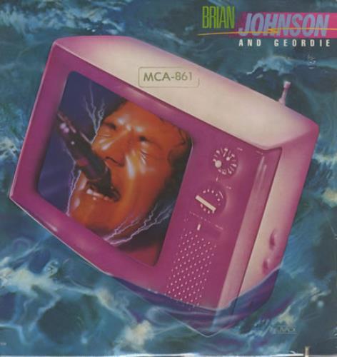 Brian Johnson Brian Johnson And Geordie vinyl LP album (LP record) US BJSLPBR391487