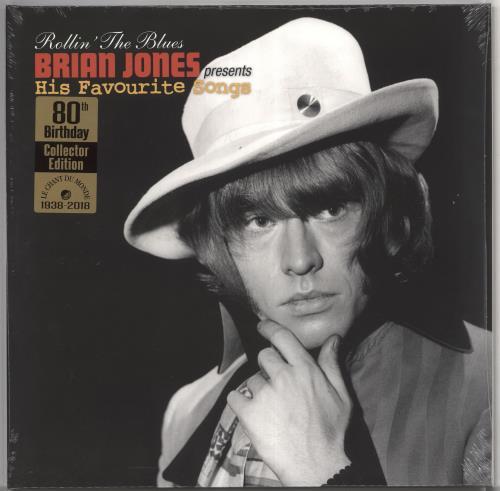 Brian Jones Rollin' The Blues - Brian Jones Presents His Favourite Songs 2-LP vinyl record set (Double Album) UK BJN2LRO724808