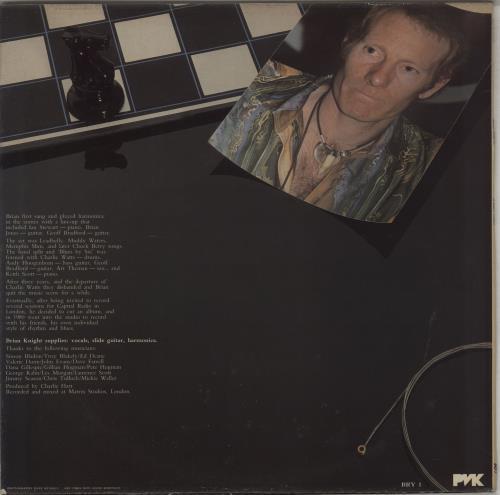 Brian Knight A Dark Horse vinyl LP album (LP record) UK I0TLPAD764137