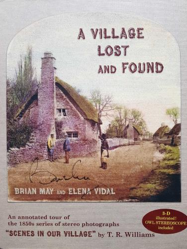 Brian May A Village Lost and Found - Autographed book UK MAYBKAV692315