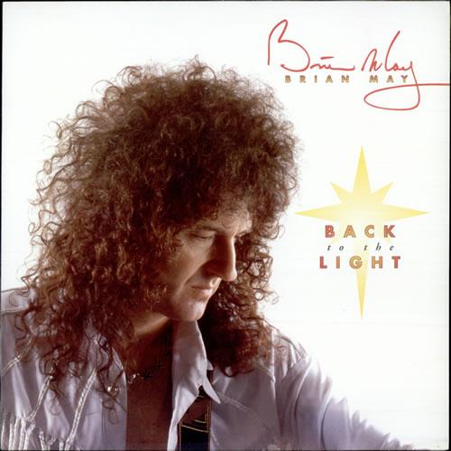 Brian May Back To The Light - EX vinyl LP album (LP record) UK MAYLPBA498624