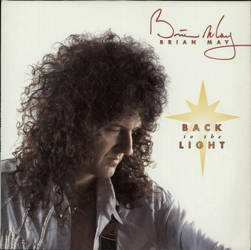 Brian May Back To The Light - Textured Sleeve vinyl LP album (LP record) UK MAYLPBA218770