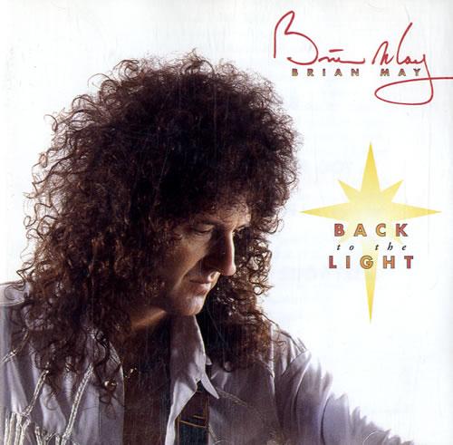 Brian May Back To The Light CD album (CDLP) UK MAYCDBA55761