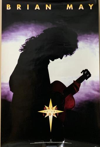 Brian May Back To The Light poster US MAYPOBA723427