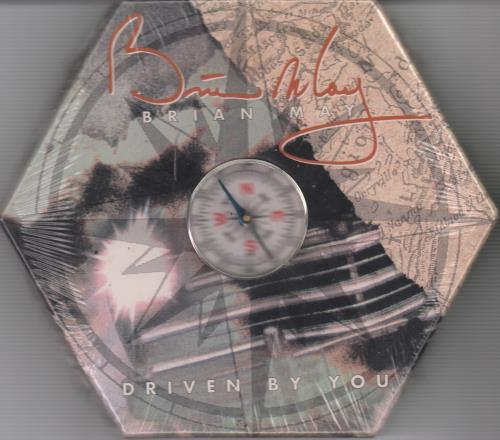 """Brian May Driven By You - Compass Pack - Sealed CD single (CD5 / 5"""") US MAYC5DR15400"""