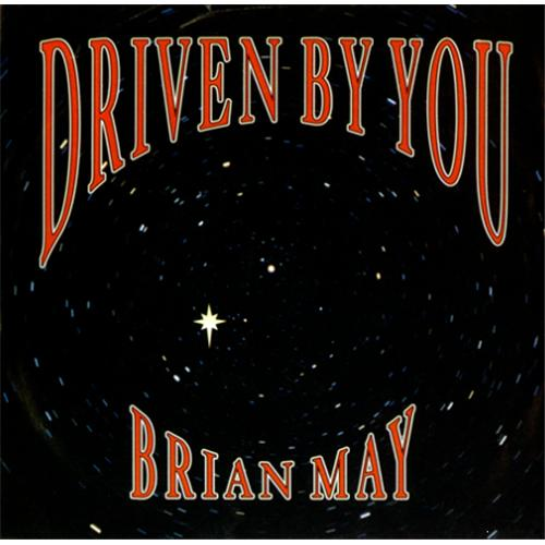 "Brian May Driven By You - Matt Sleeve 7"" vinyl single (7 inch record) UK MAY07DR51098"