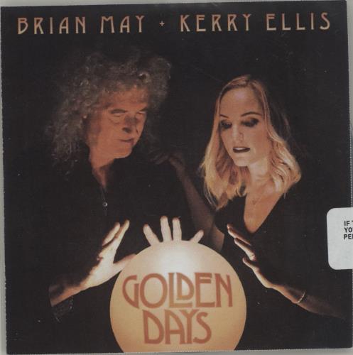 Brian May Golden Days CD-R acetate UK MAYCRGO680929