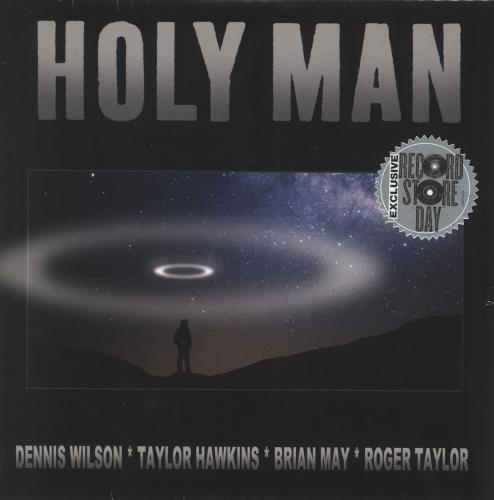 "Brian May Holy Man - RSD19 - Sealed 7"" vinyl single (7 inch record) UK MAY07HO718413"