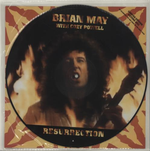 "Brian May Resurrection 12"" vinyl picture disc 12inch picture disc record UK MAY2PRE18487"
