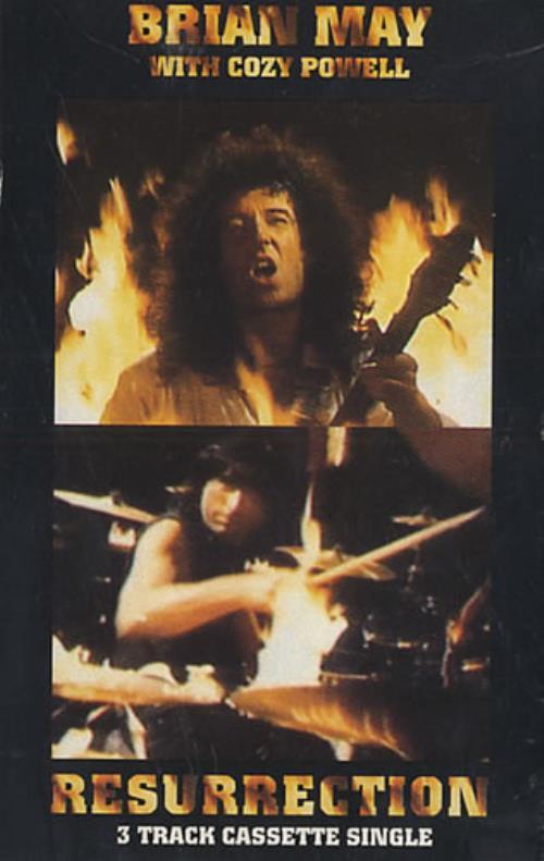 Brian May Resurrection cassette single UK MAYCSRE209423