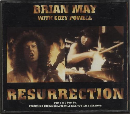 Brian May Resurrection 2-CD single set (Double CD single) UK MAY2SRE88224
