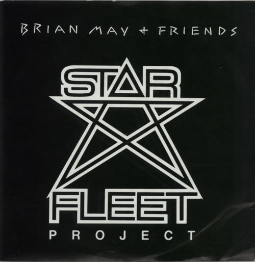 "Brian May Starfleet - EX 7"" vinyl single (7 inch record) UK MAY07ST96099"