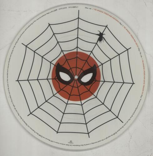 """Brian May The Amazing Spider-man 12"""" vinyl picture disc 12inch picture disc record UK MAY2PTH42108"""