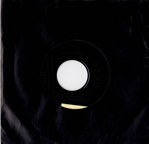"""Brian May Too Much Love Will Kill You - Jukebox 7"""" vinyl single (7 inch record) UK MAY07TO576967"""